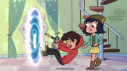 S3E23 Marco falls out of the dimensional portal