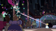 S3E24 Star catches Mina with magic ribbon