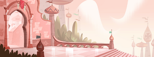 Star Comes to Earth background - Mewni royal palace 2