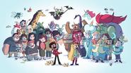 Comic Con Preview Cast