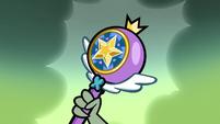 S1E3 Ludo holds Star's magic wand
