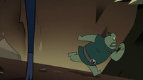 S2E20 Buff Frog running away from Ludo's minions