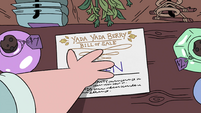 S4E7 Apothecary Sherry puts down a bill of sale