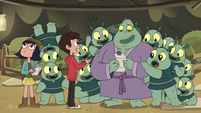 S4E24 Marco inviting Buff Frog and his family