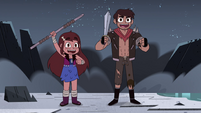 S4E28 Marco and Mariposa cheer with victory