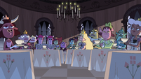 S1E19 Princesses sipping tea