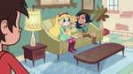 S2E18 Janna takes Marco's wallet from Star Butterfly