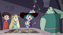 S4E34 Eclipsa giving orders to Buff Frog