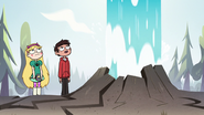 S2E10 Star and Marco watch Old Youtful erupt