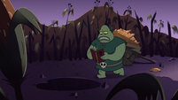 S2E20 Buff Frog taking more notes in his book