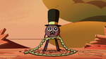 S2E22 Spider With a Top Hat mourning the beanbag monster