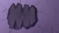 S4E22 Giant hand leaves a mark in the wall