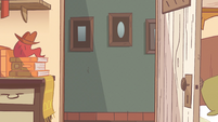 Monster Arm background - Marco's bedroom door