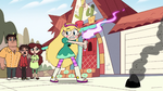 S3E32 Star Butterfly reduces the painting to ashes