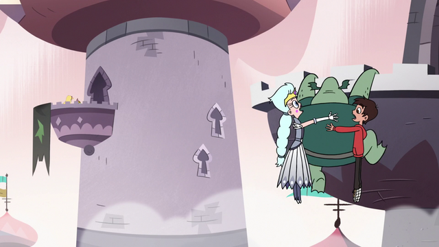 Файл:S3E7 Buff Frog lands on balcony near Star and Ludo.png