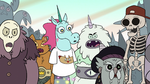 S2E13 Creatures all get mad at Pony Head