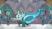 S4E10 Cat monster swings fire rope around