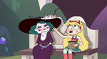 S3E14 Star throwing birdseed at Eclipsa
