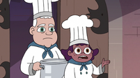 S3E37 Castle chefs ask Star about Dinner