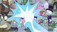 S4E16 Crowd gets blasted with Star's magic