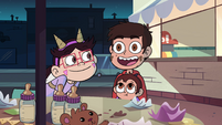 S4E26 Marco Diaz excitedly thinks of Janna