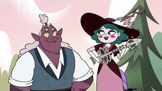 Star Vs The Forces Of Evil S04E13 B The Monster And The Queen (Eclipsa And Globgor's Song)