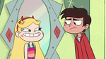 S1E12 Star looking at Marco happily