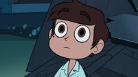 S1E14 Marco looking at Princess Smooshy