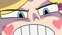 S2E29 Close-up of Star Butterfly's angry glare
