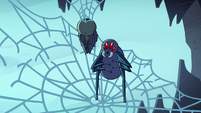 S2E2 Giant spider standing on unstable web