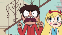 S2E36 Marco Diaz yelling in frustration