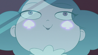 S3E2 Eclipsa's cheek marks start to glow