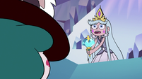 S3E2 Queen Moon asks Eclipsa 'before what?'