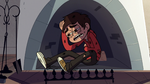 S2E22 Marco Diaz looking weak in the house fireplace