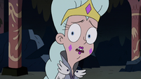 S2E41 Queen Moon looks behind toward Ludo-Toffee
