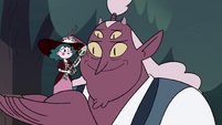 S4E23 Globgor catches Eclipsa in his hands