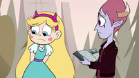 S4E25 Star looking away in embarrassment