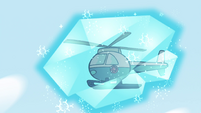 S4E29 Police copter gets frozen in midair