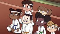 S2E37 Marco and students listen to their sensei