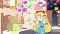 S4E18 Star poofs away the magic party