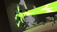 S2E20 Meat Fork gets blasted through a wall
