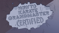 S2E37 Grandmaster gives the dojo his certification