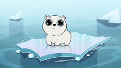 S1E6 Yuri the polar bear on sinking ice
