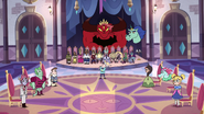 S3E10 Princes and princesses rise for commencement bow