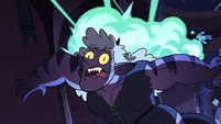 S3E38 Leech bombs explode on Meteora's back