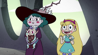 S4E34 Star and Eclipsa happy to see Moon