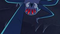 S2E2 Spider stabbing its mandibles at Ludo
