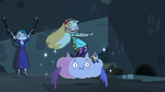 S3E11 Star Butterfly doing a victory dance