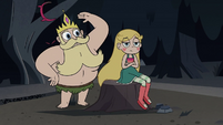 S3E27 King Butterfly removing Star's headband