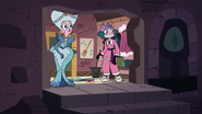 S3E28 Moon and Eclipsa look inside the secret passage